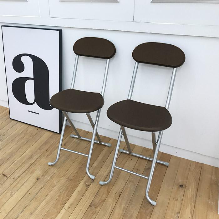 오에이데스크 나무 등받이 의자 2p, 월넛