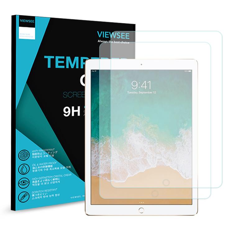 뷰씨 태블릿PC 강화유리필름 2p, 단일 색상