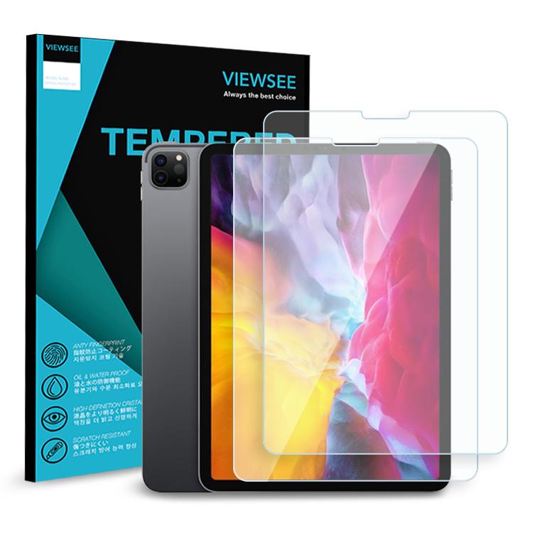 뷰씨 태블릿 강화유리 액정보호필름 2p, 단일색상