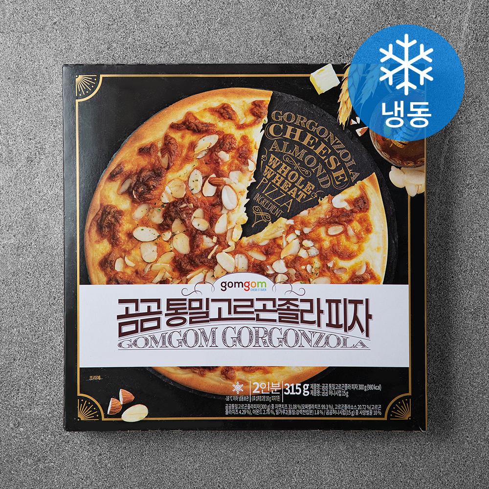 곰곰 통밀고르곤졸라 피자 (냉동), 315g, 1개