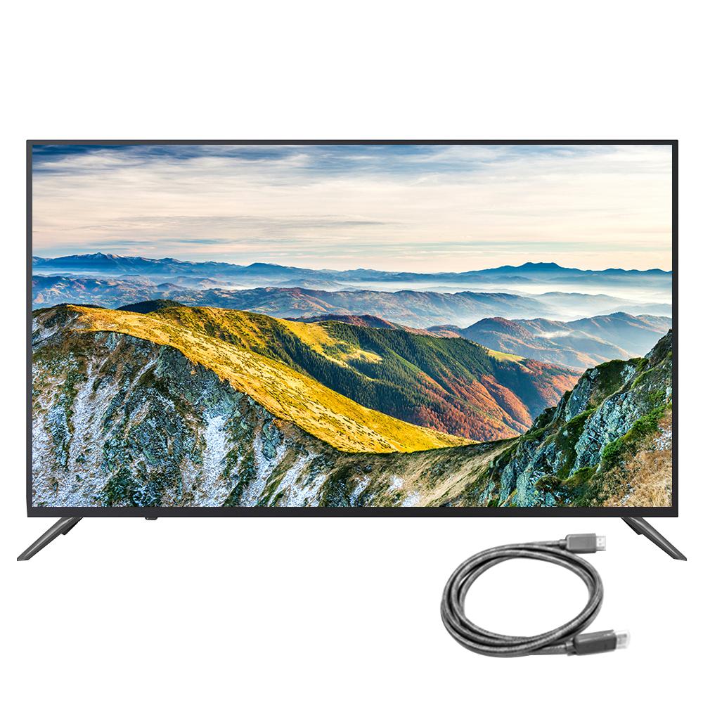 시티브 FHD 109cm LG패널 무결점 TV AK430FDTV + HDMI 케이블, 스탠드형, 자가설치