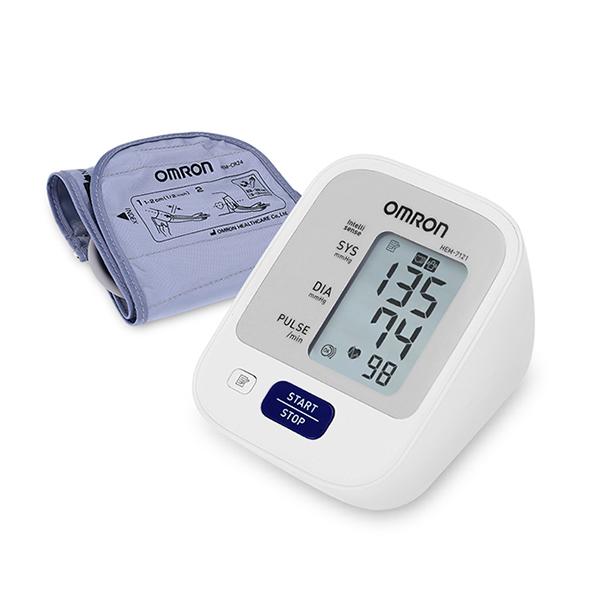 [오므론 혈압계] 오므론 혈압측정기 HEM-7121, 1개 - 랭킹1위 (67500원)