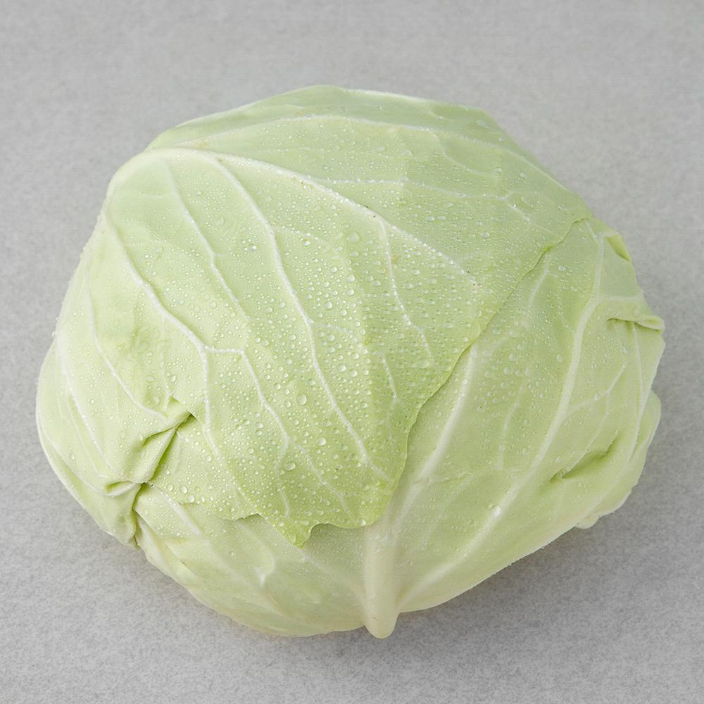 친환경 인증 국내산 양배추, 1kg, 1통
