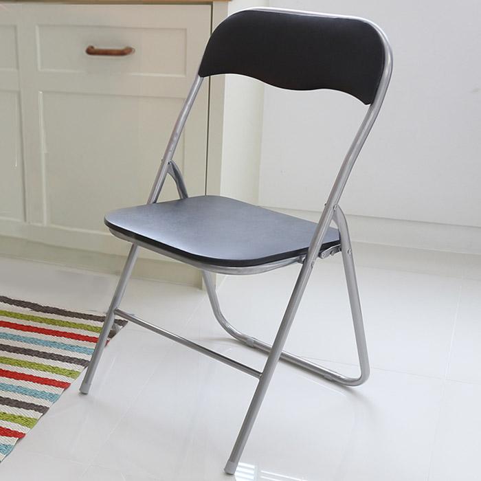 오에이데스크 사각 의자 M, 블랙