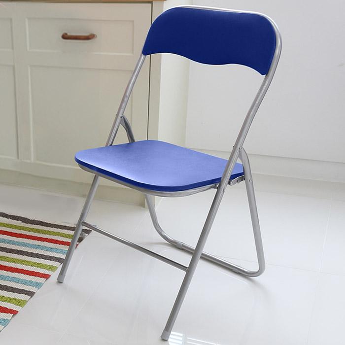 오에이데스크 사각 의자 M, 블루