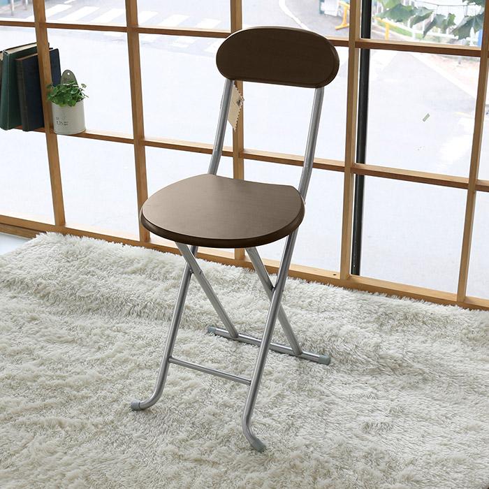 오에이데스크 나무 등받이 의자, 월넛 OC008