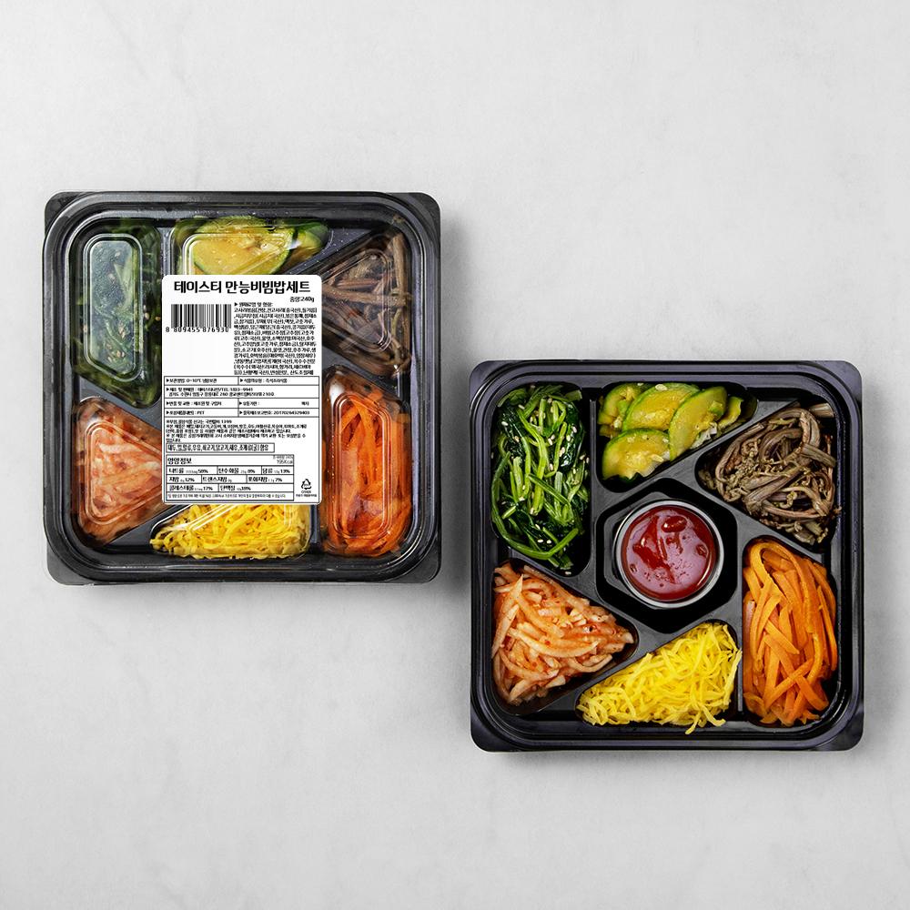 테이스티나인 만능비빔밥세트, 240g, 1개