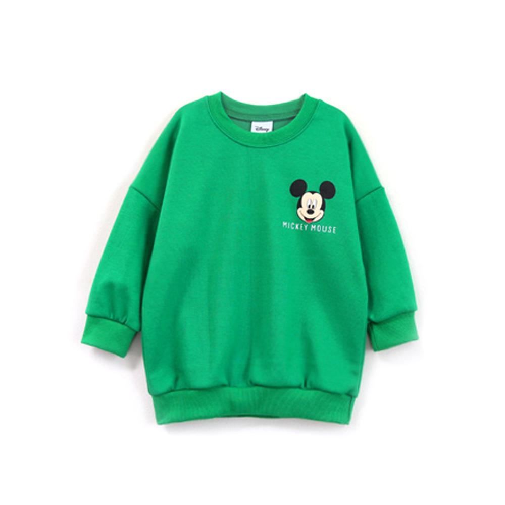 리틀래빗 아동용 척척미키롱 긴팔 맨투맨 티셔츠