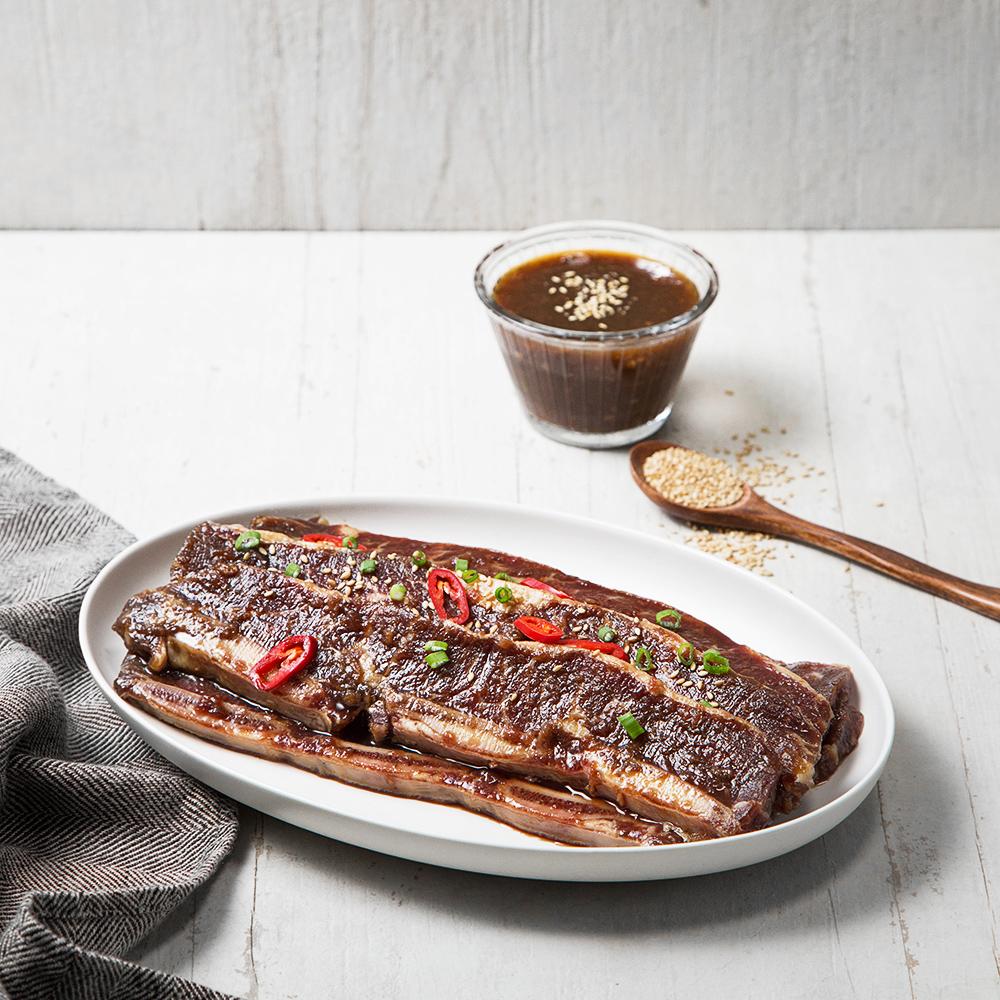 셰프초이스 양념 소 LA갈비 (냉장), 1kg, 1개