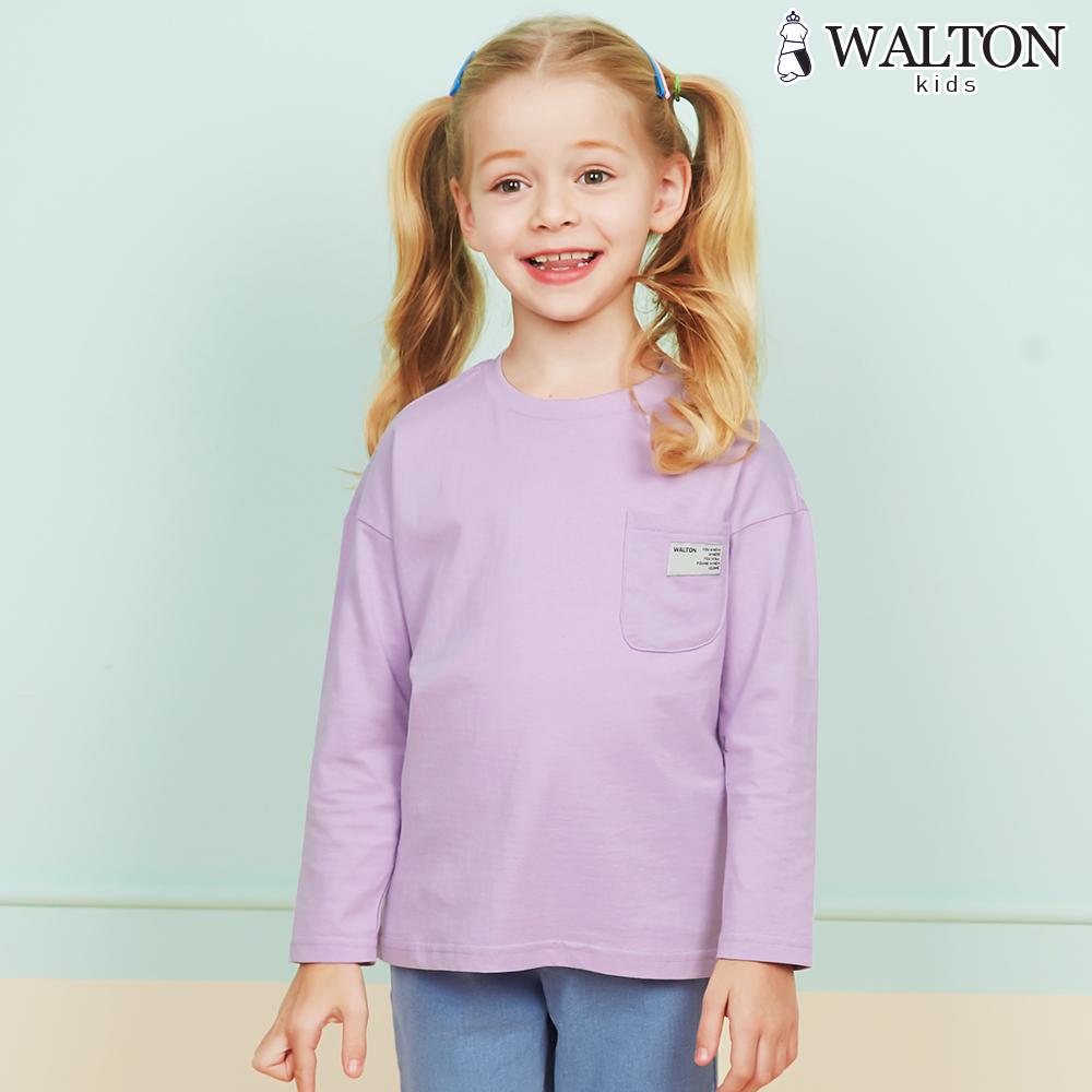 월튼키즈 아동용 포켓베이직 티셔츠