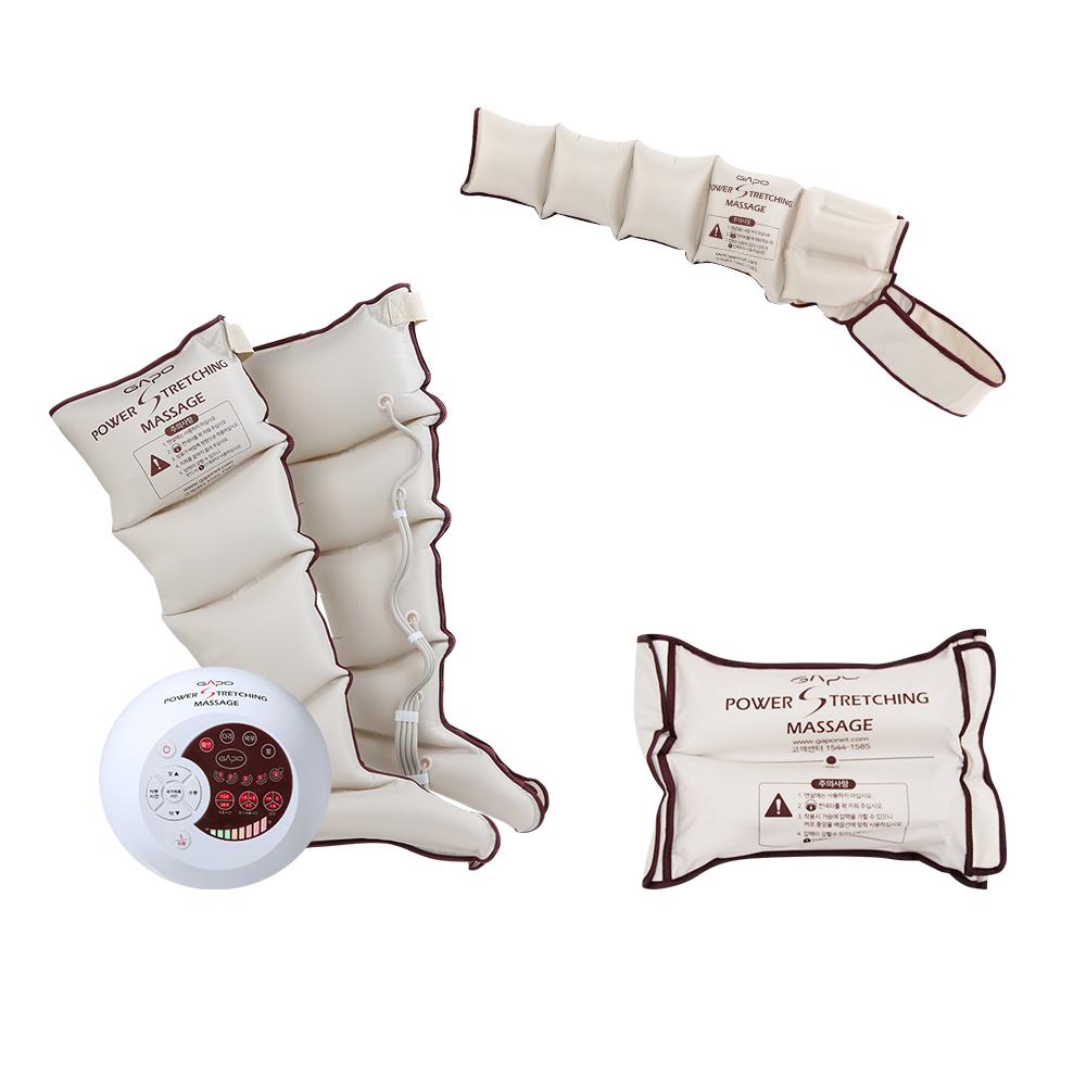 가포 사지압박 순환장치 풀세트 복부형 버건디 GAPO MULTI 5