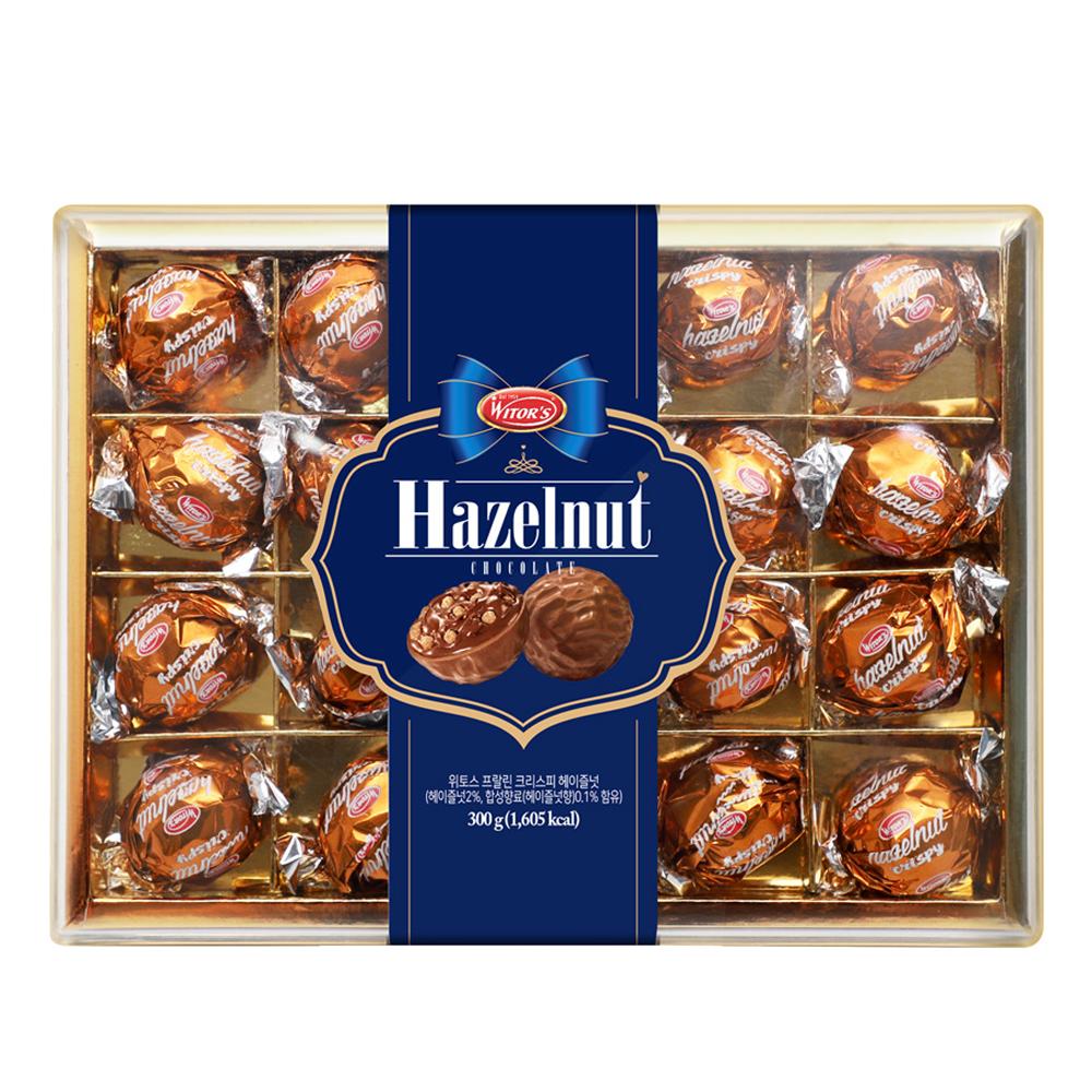 위토스 헤이즐넛 초콜릿, 300g, 1개
