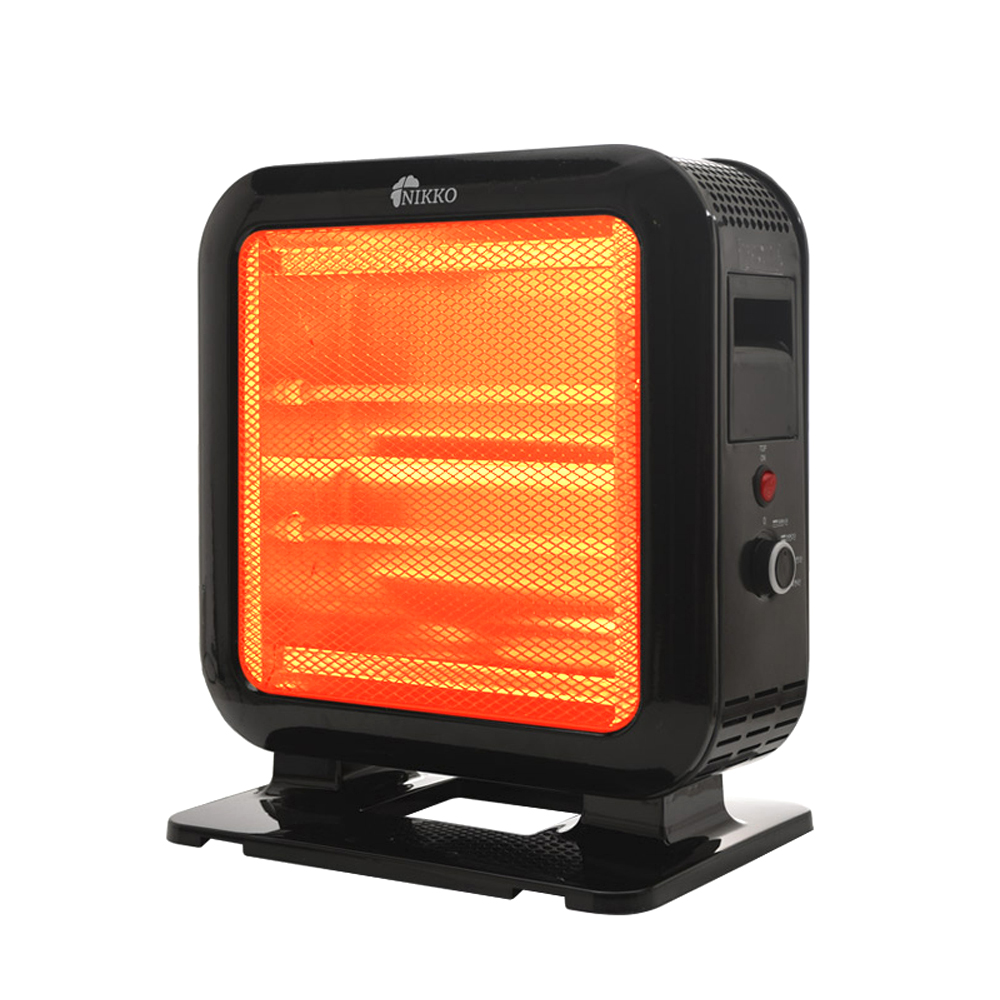 니코 3방향 전기스토브 석영관 히터, WH-Q184WS, 혼합 색상