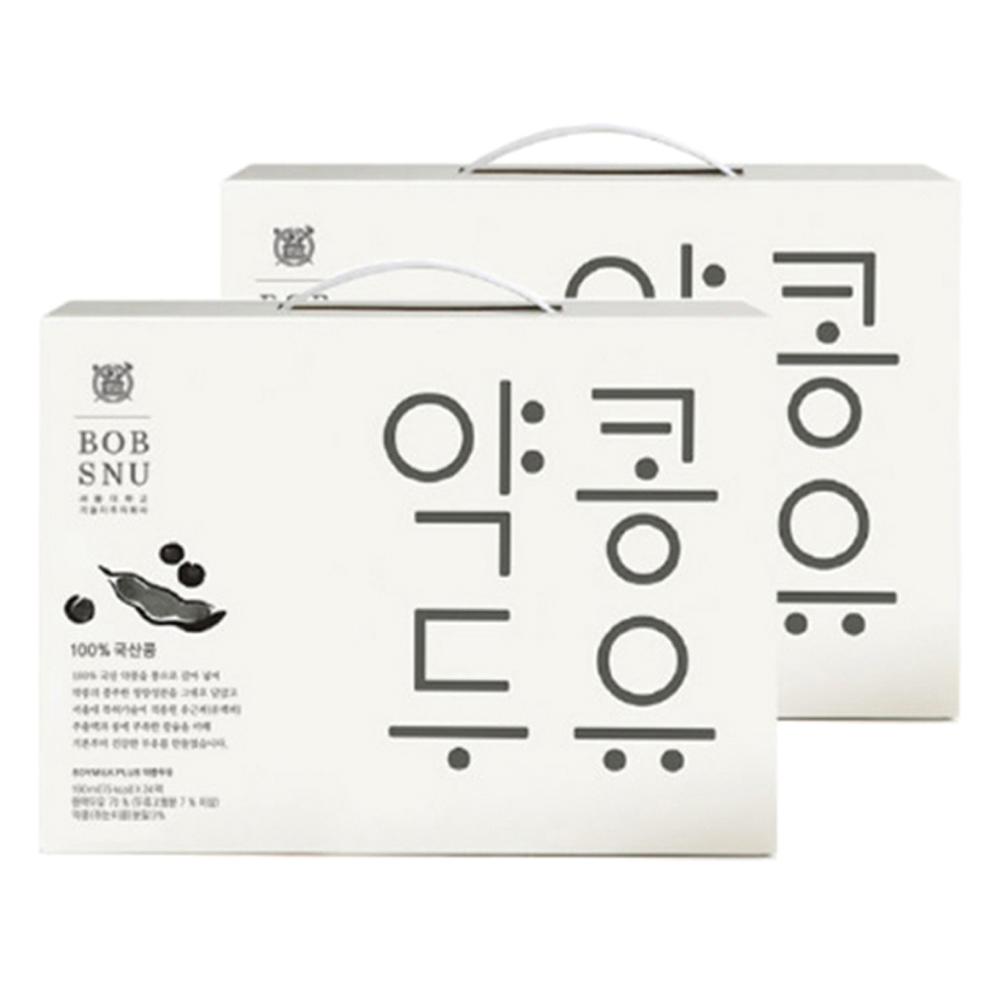 서울대밥스누 약콩두유 오리지널, 190ml, 48개