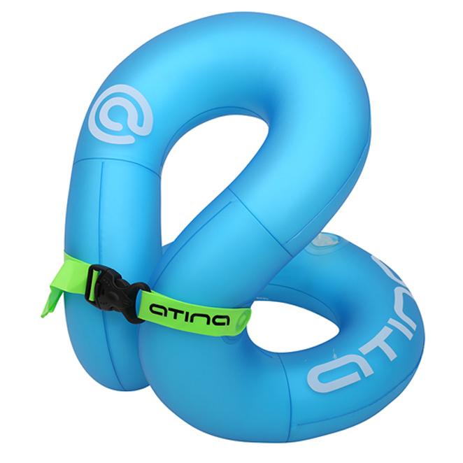 아티나 넥베스트 아동용 수영보조용품 35kg, 블루-8-1649521523