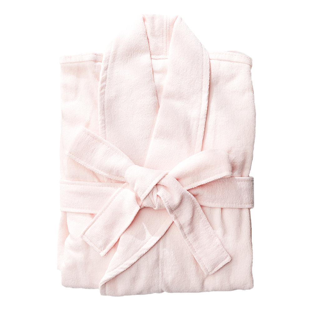 소프트터치 30수 데일리 목욕가운, 핑크, 1개