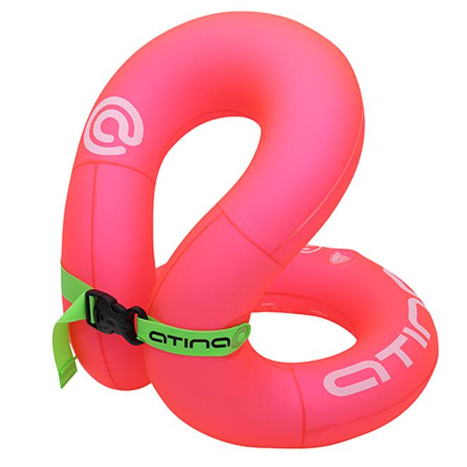 아티나 넥베스트 아동용 수영보조용품 35kg, 핑크