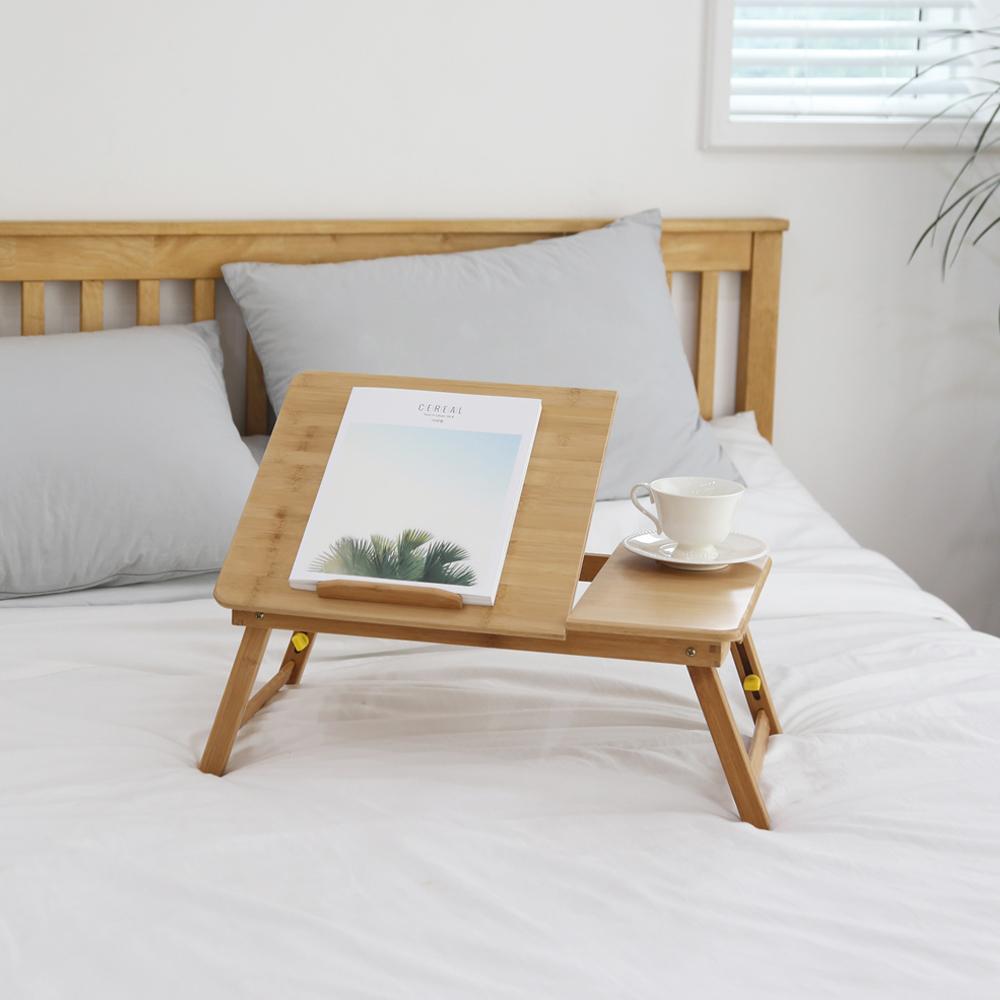코시나 데일리 원목 침대 베드테이블, 네츄럴 브라운