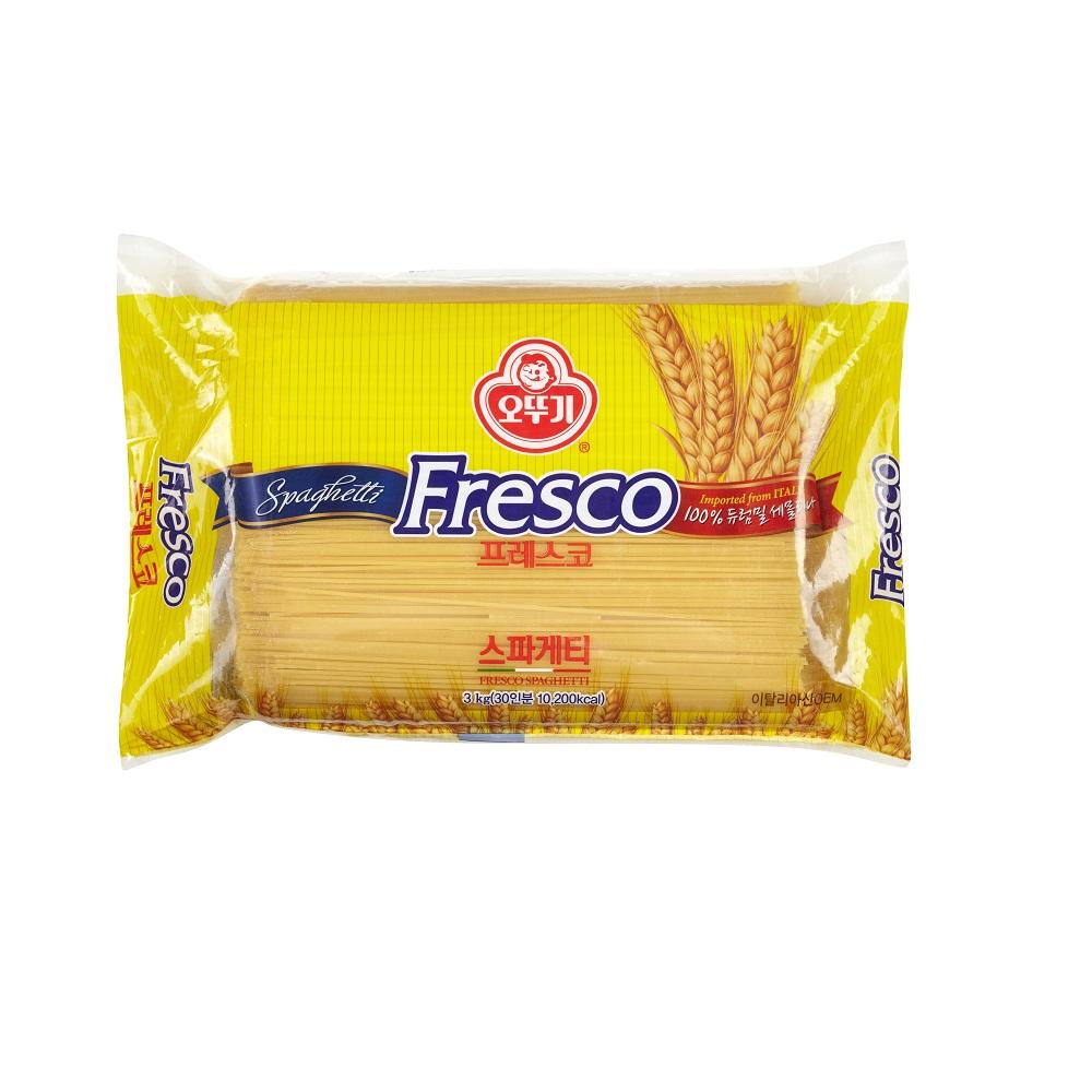 오뚜기 프레스코 스파게티, 3kg, 1개