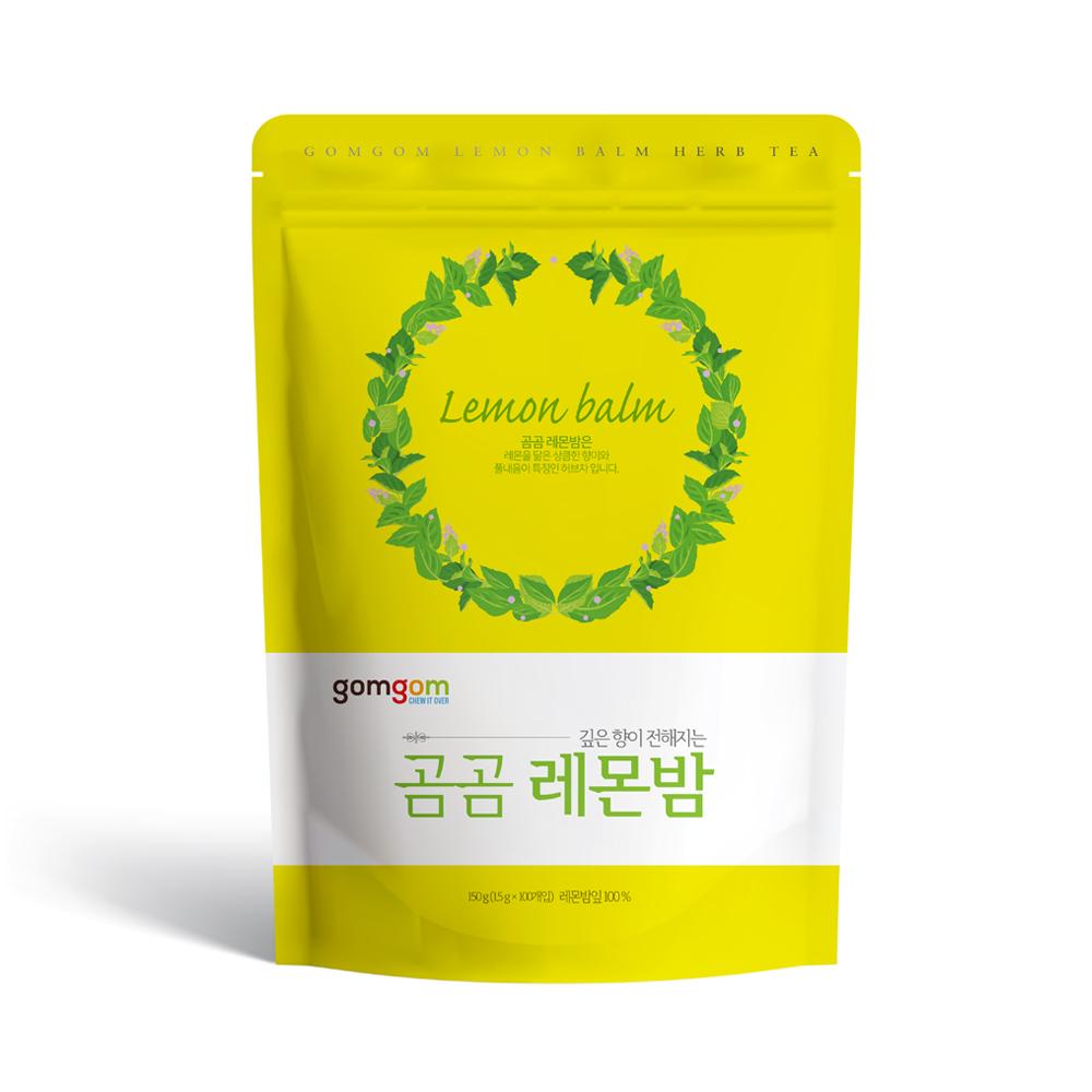 곰곰 레몬밤삼각티백, 1.5g, 100개입