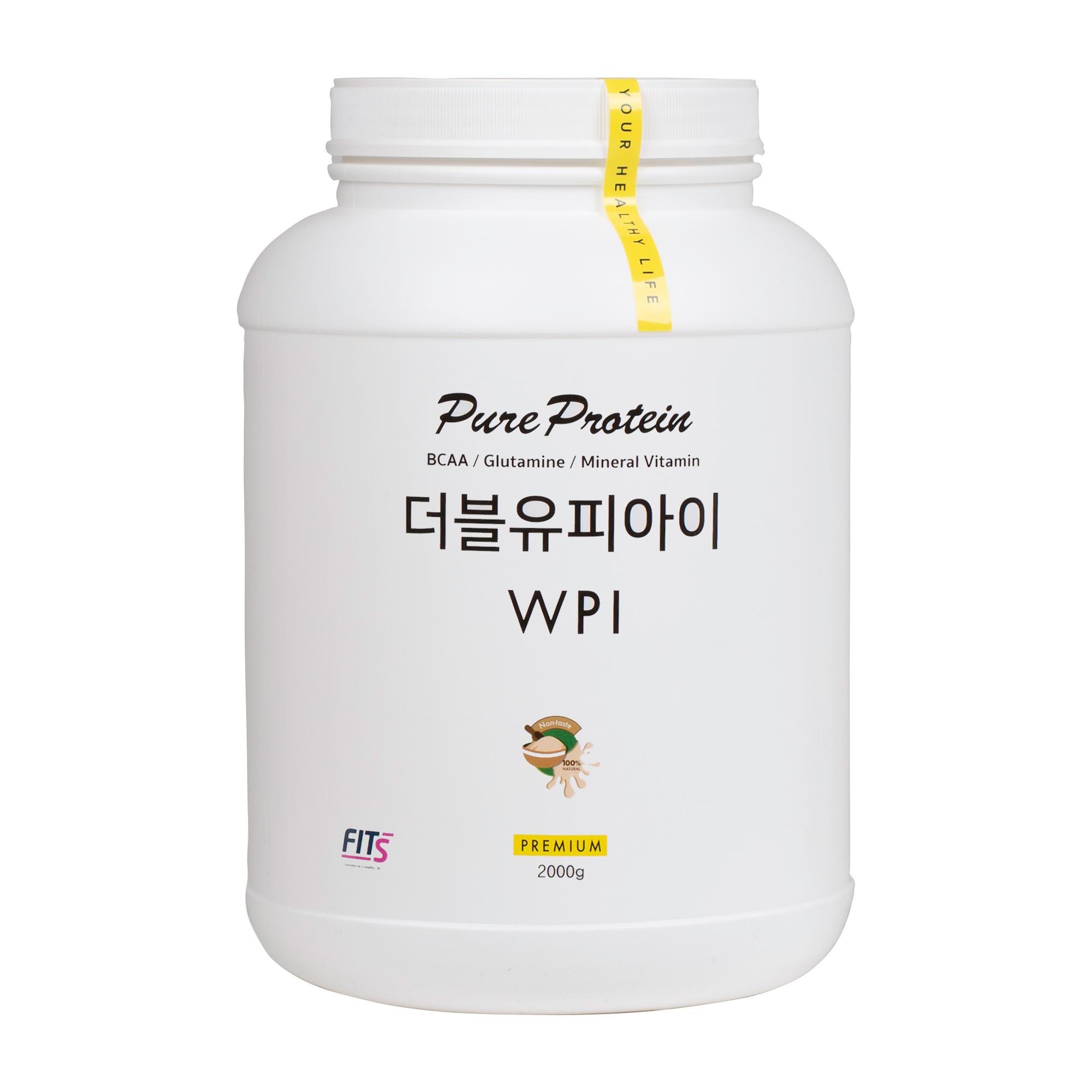 핏츠 순수 단백질 WPI, 2kg, 1개