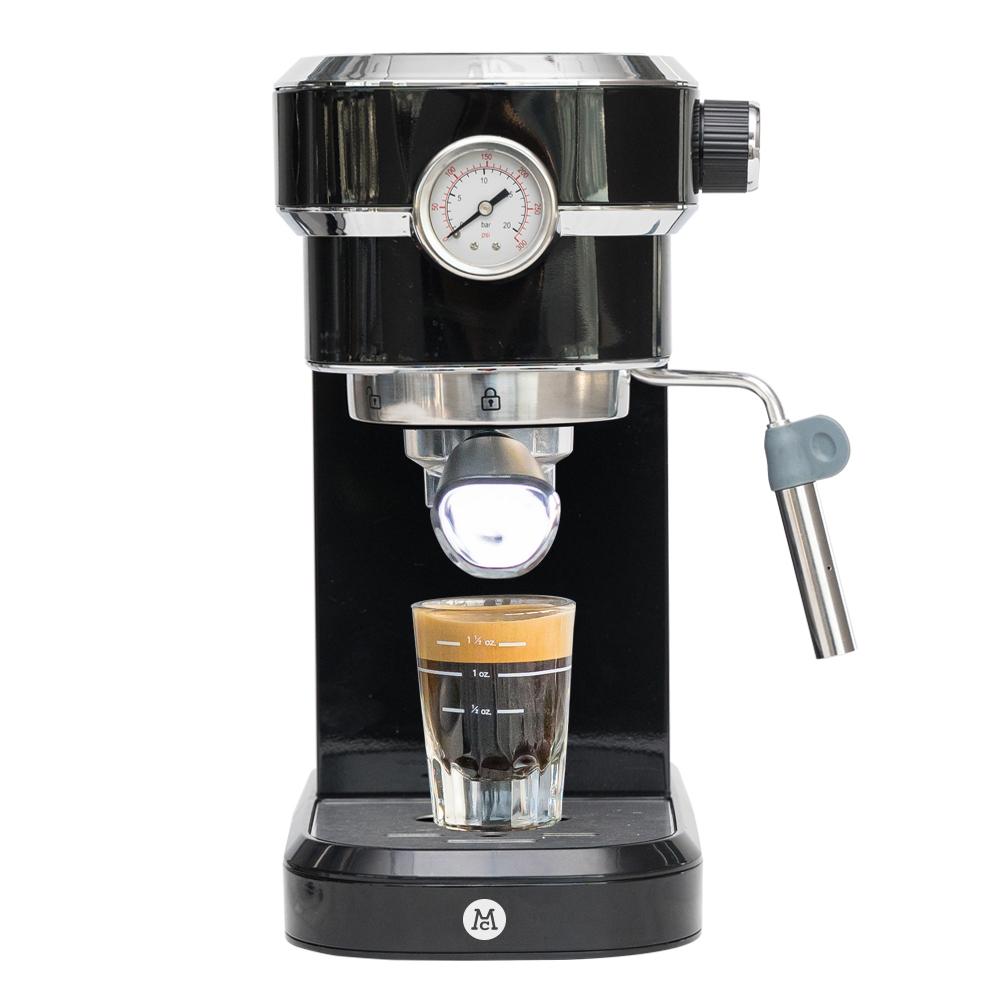 맥널티 자동압력조절 에스프레소 커피머신, MCM6851B(피아노블랙)