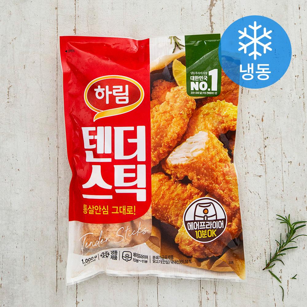 하림 텐더스틱 (냉동), 1000g, 1개