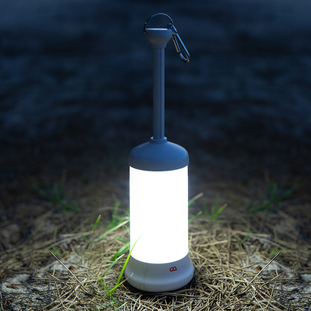 오아 올라이트 LED 충전식 무선 캠핑 랜턴 OA-LP100, White, 1개