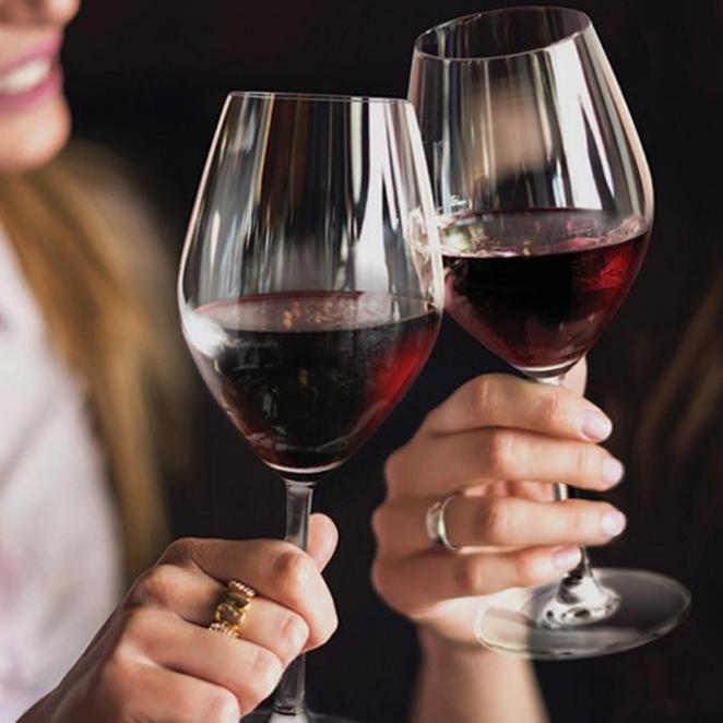 오션글라스 산테 보르도 와인잔 선물용 2p + 선물박스, 595ml, 1세트