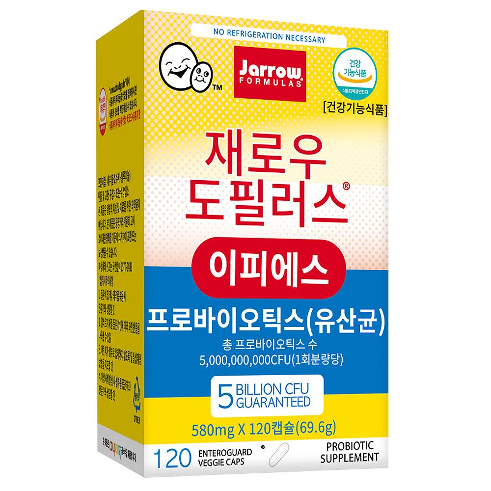 [쿠팡 직수입] 재로우 도필러스 이피에스 유산균 영양제, 120정, 1개