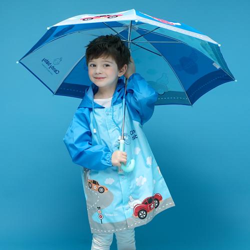 캔디베이비 아동용 레이싱카 우산