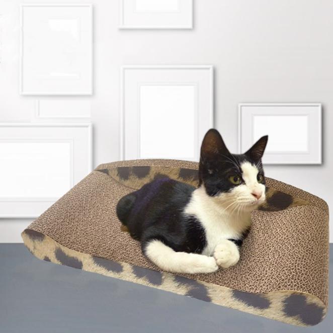 고양이 쇼파 스크래쳐 평판형 스크래쳐, 혼합 색상, 1개