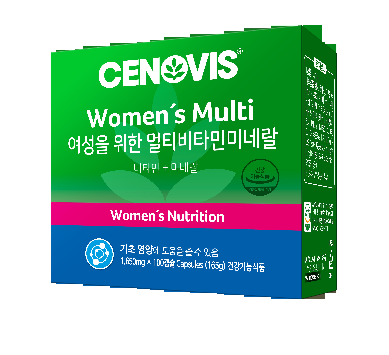 세노비스 여성용 멀티비타민미네랄, 100캡슐, 1개