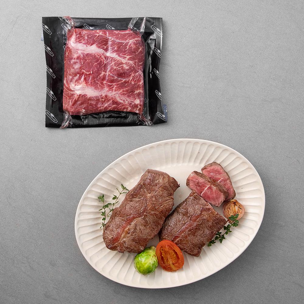 곰곰 블랙앵거스 부채살 스테이크용 (냉장), 400g, 1팩