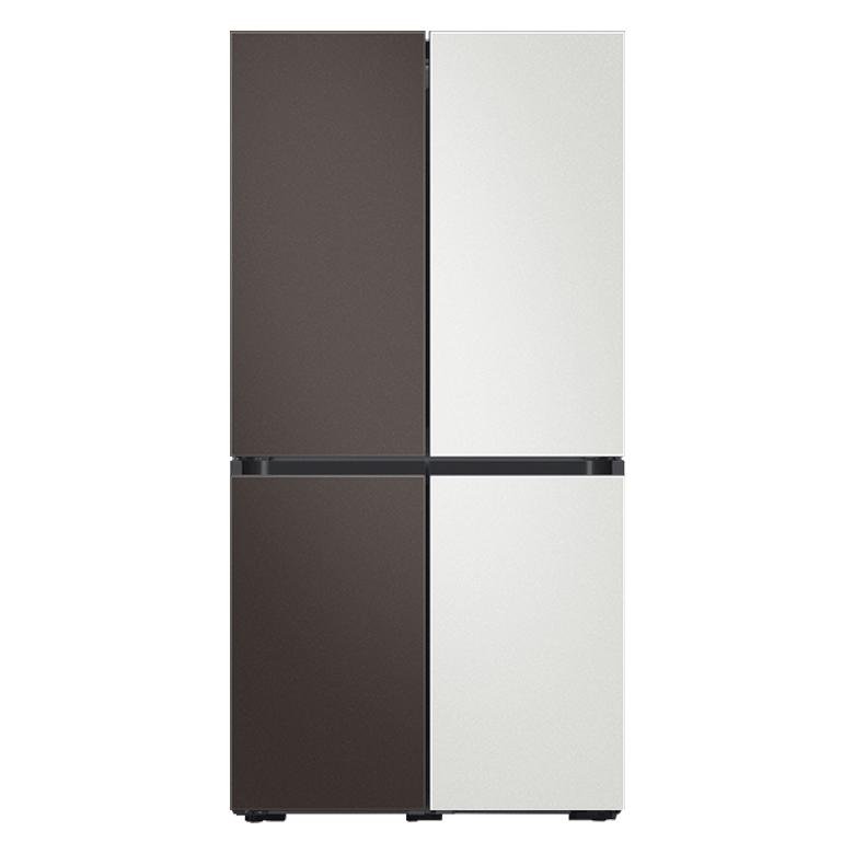 삼성전자 비스포크 4도어 냉장고 RF85T9141AP 8 870L 방문설치, 코타 차콜, 코타 화이트, 코타 차콜, 코타 화이트