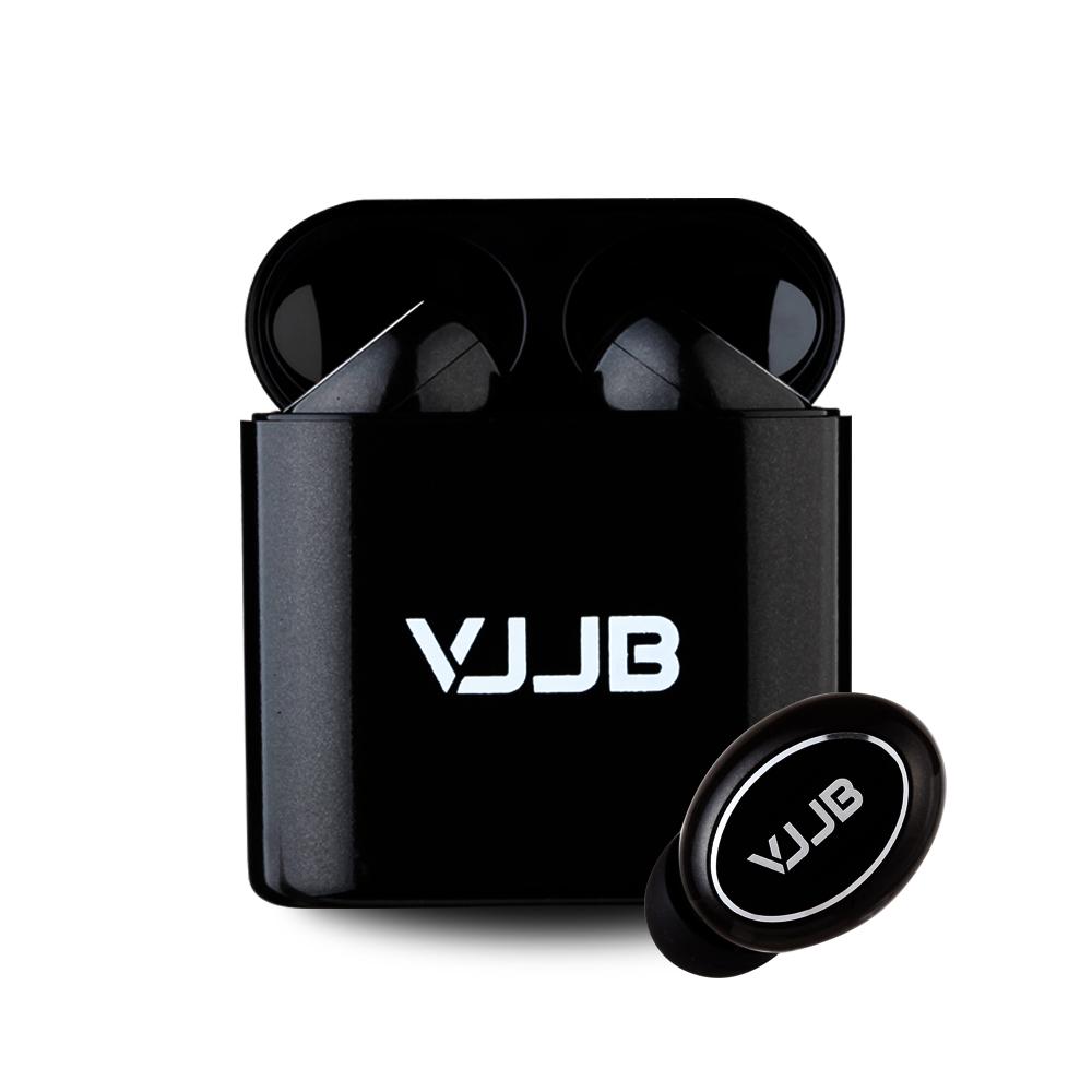 VJJB air suit 블루투스 5.0 무선 이어폰 자동페어링, 혼합 색상