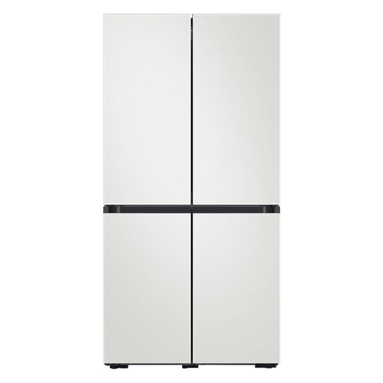 삼성전자 비스포크 4도어 냉장고 RF85T9141AP 1 870L 방문설치, 코타 화이트, 코타 화이트, 코타 화이트, 코타 화이트