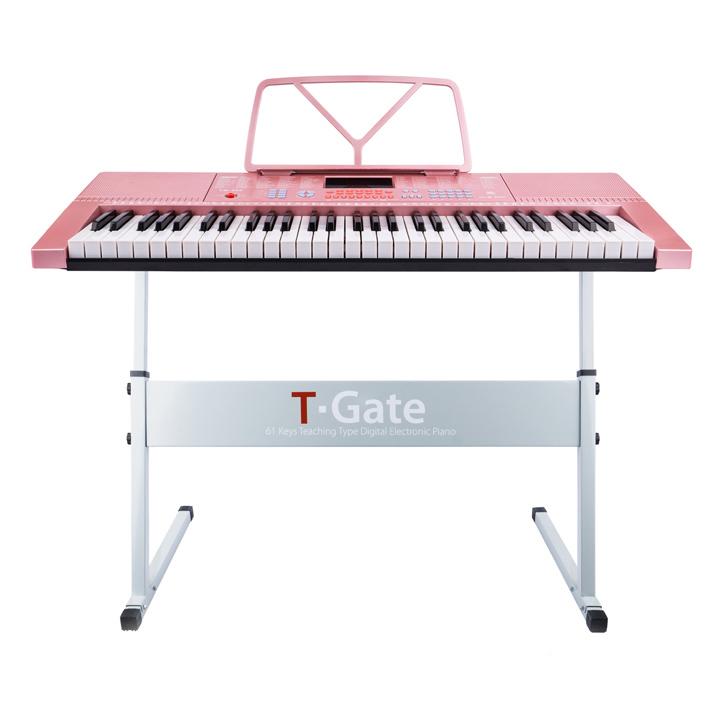 토이게이트 교습용 디지털 피아노 슬림형 TYPE A, 핑크