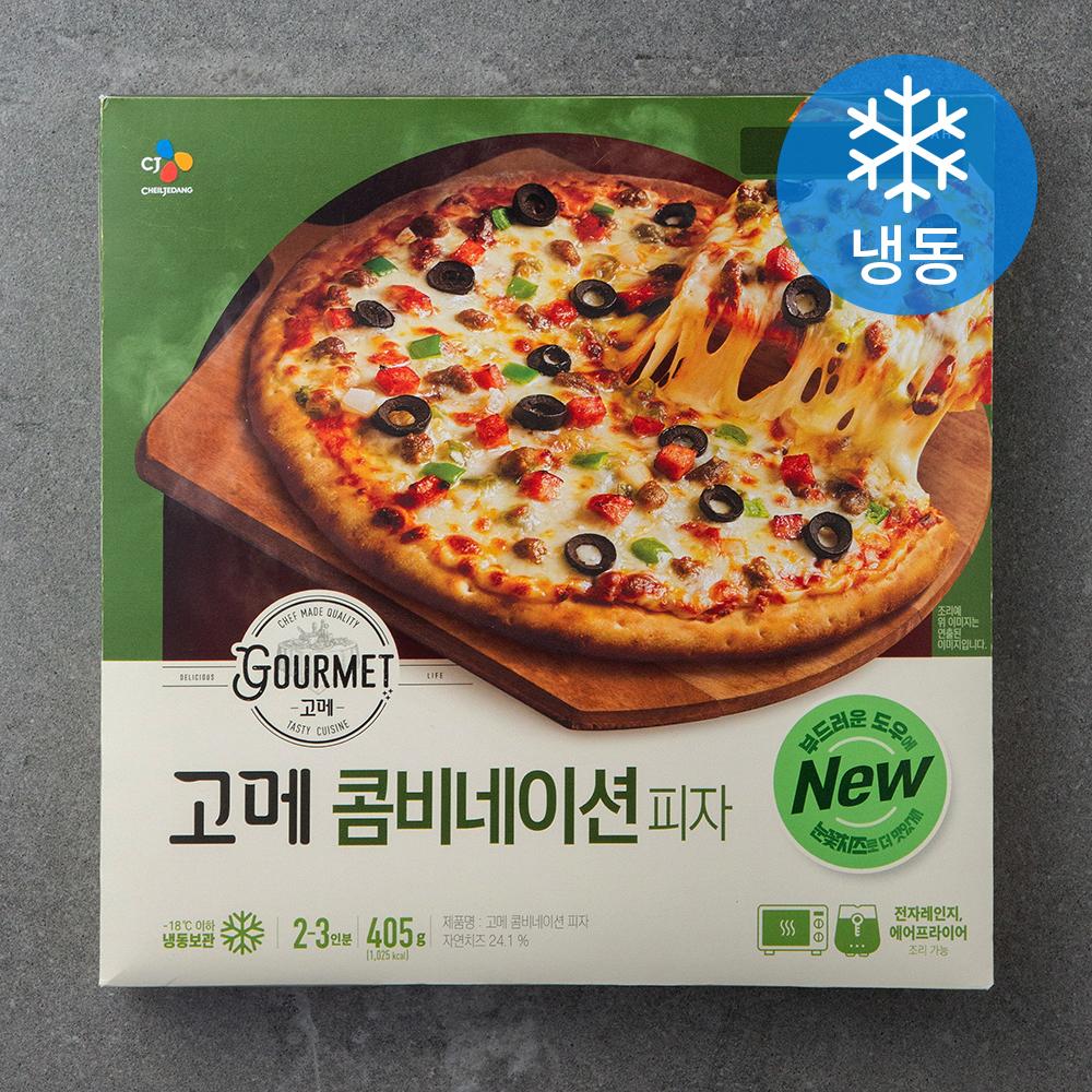 고메 클래식 콤비네이션 피자 (냉동), 405g, 1개