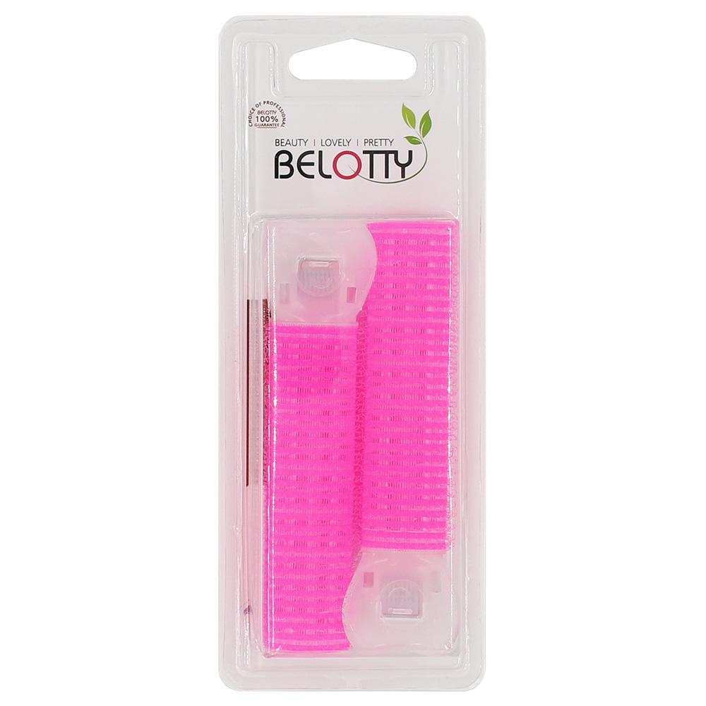 벨로티 뿌리볼륨 집게형 헤어롤 2개입, 핑크, 1개