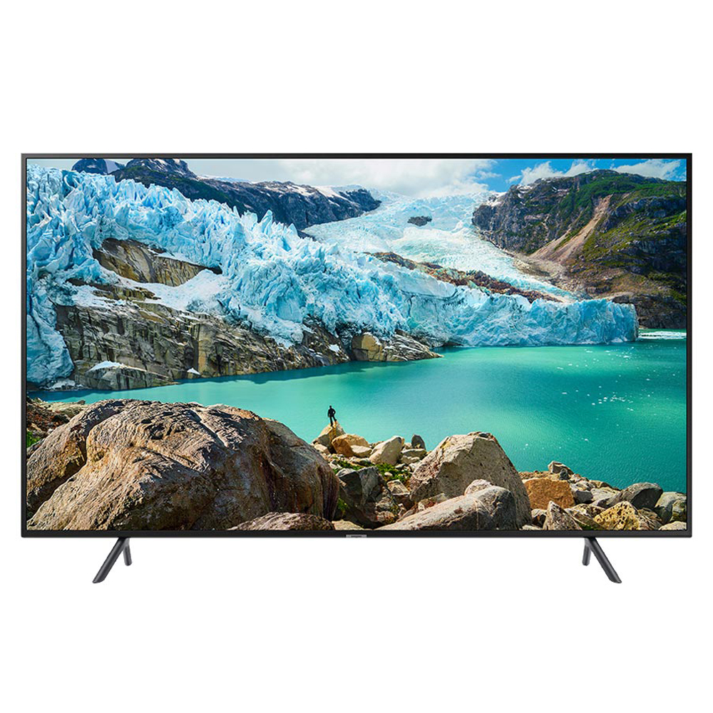 삼성전자 프리미엄 UHD 138cm TV 방문설치, 스탠드형, UN55RU7100FXKR + CY-S55NU710/KR(스탠드형)