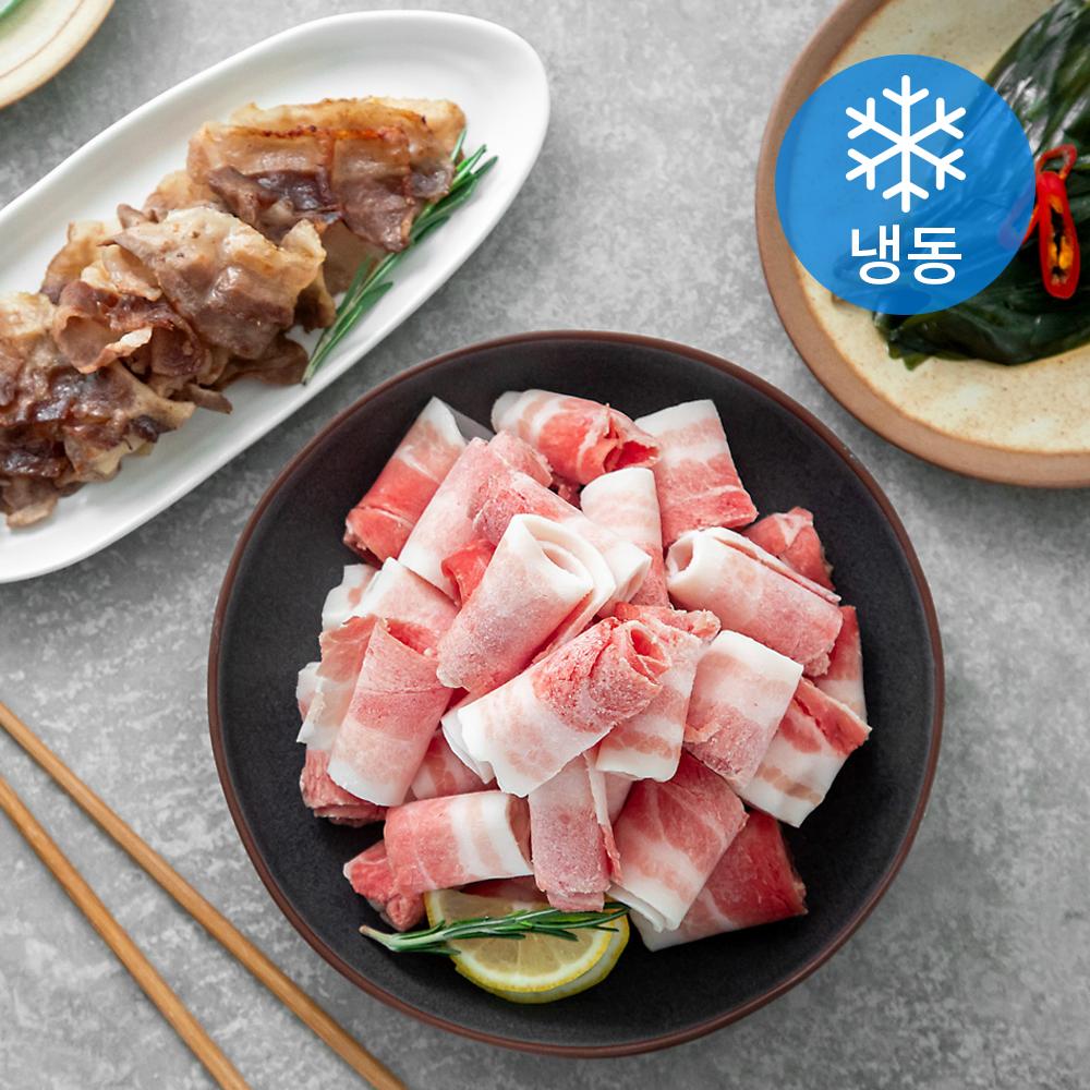 곰곰 돌돌말이 대패 삼겹살 (냉동), 1kg, 1개