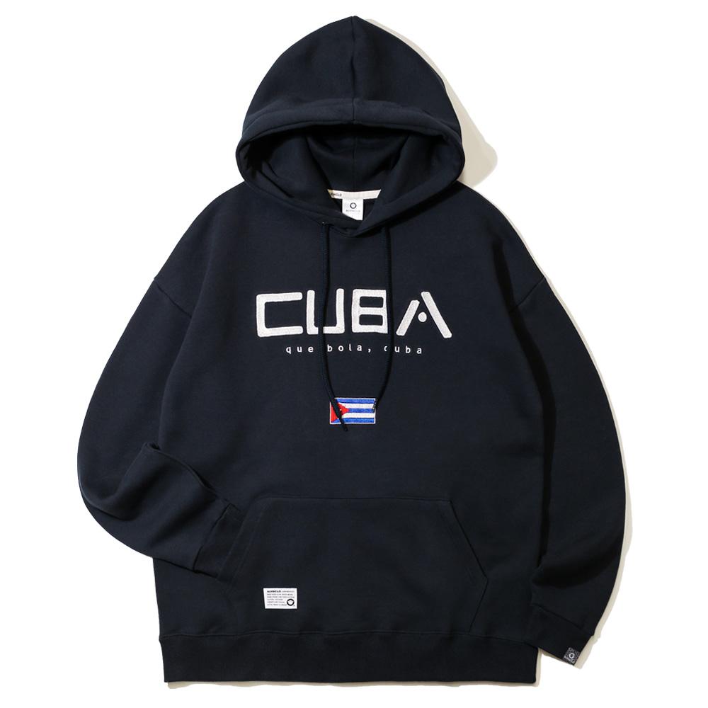 앨빈클로 쿠바 오버핏 후드티 AVH-857