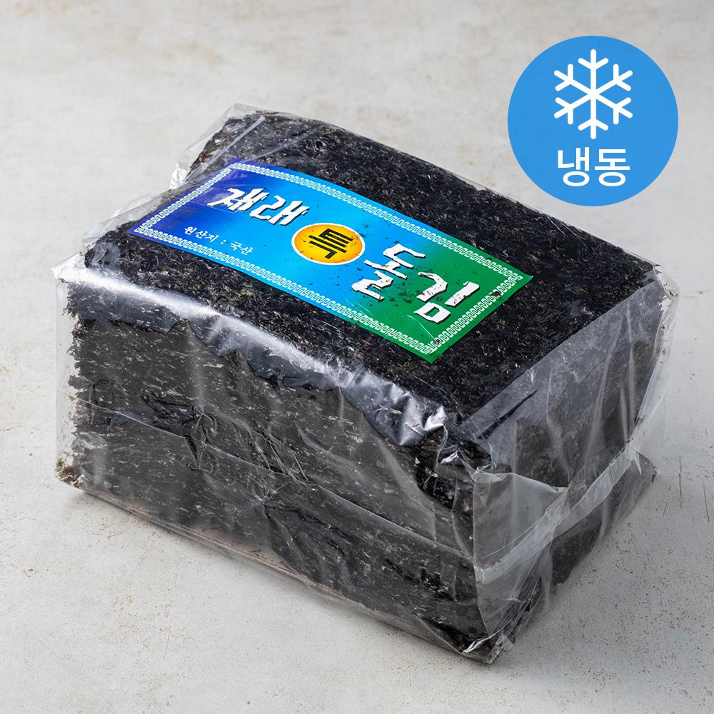 신건호멸치 국산 햇 곱창김 상급 100장 (냉동), 1팩