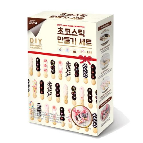 브레드가든 초코스틱 만들기 세트, 초콜릿 재료 6종, 1세트