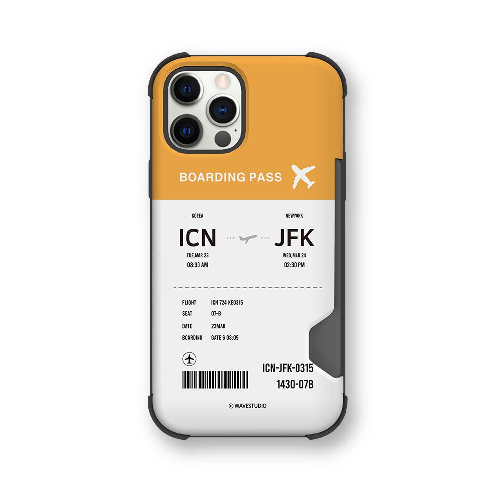[범퍼케이스] 웨이브스튜디오 비행기티켓 이중범퍼 카드수납 휴대폰 케이스 - 랭킹43위 (16150원)