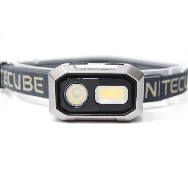 나이트큐브 하이브리드 LED 헤드랜턴 NH-04, Black, 1개