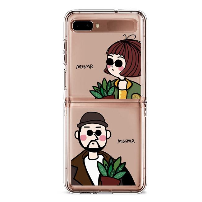 [갤럭시 플립] Z플립 젤 하드 휴대폰 케이스 - 랭킹67위 (10900원)
