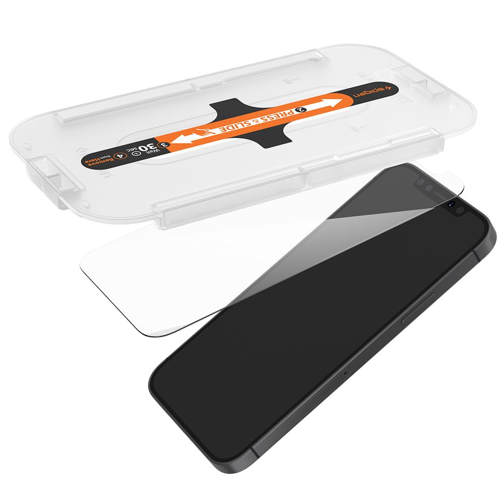 슈피겐 글라스 티알 이지핏 휴대폰 강화유리 전면보호 AGL01801 2p, 1세트-12-2281048961
