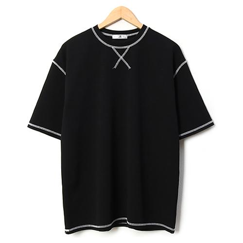 [썸머 프리핏] 레이먼 남성용 토스트 스티치 라운드 오버핏 반팔 티셔츠 - 랭킹75위 (19800원)